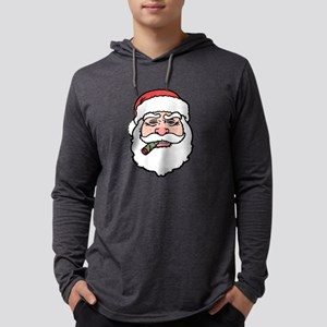 santa-cigar-T Long Sleeve T-Shirt